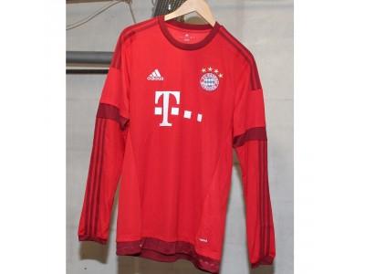FC Bayern home jersey L/S 2015/16 - Lewandowski 9
