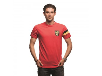 Belgium Captain T-shirt // Red