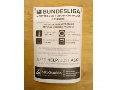 Bundesliga Meister 18/19 Sleeve Badge - players