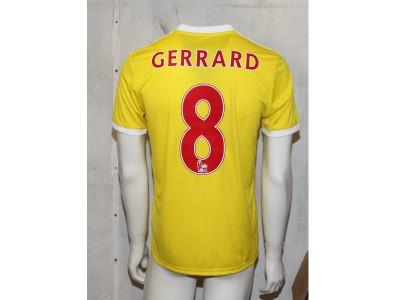 Tabela 18 jersey - Gerrard 8 - SG - yellow/red