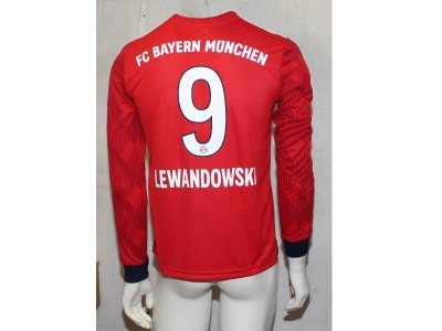 FC Bayern home jersey L/S 2018/19 - youth - LEWA 9
