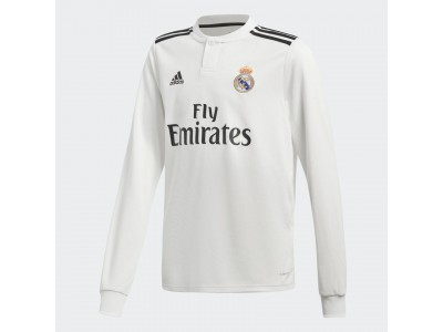 Real Madrid home jersey L/S 2018/19 - youth
