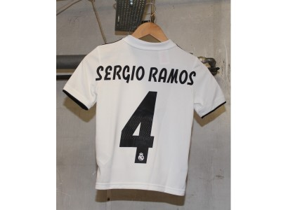 Real Madrid home jersey 2018/19 - youth - RAMOS 4