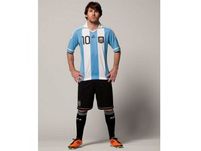 Argentina Home Jersey 2011/13 - Youth