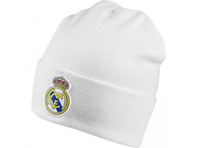 Real Madrid woolie hat 2018/19 - white - youth , adult