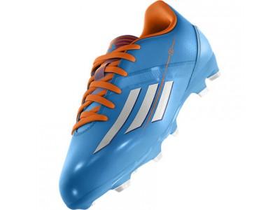 F10 FG Cleats - Blue, Orange, Youth