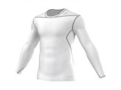 Adidas TechFit Base Layer - Long Sleeve - White