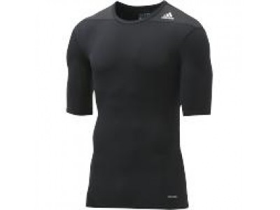 Adidas TechFit Base Layer S/S - Men's, Black