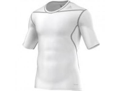 Adidas TechFit Base Layer S/S - Men's, White
