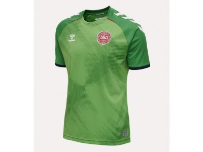 Denmark goalie jersey 2020/22 - green - youth - by Hummel