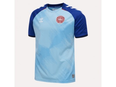 Denmark goalie jersey 2020/22 - blue - by Hummel