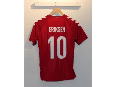 Denmark home jersey WC2018 - boys - Eriksen 10
