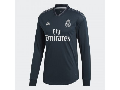 Real Madrid away jersey authentic L/S 2018/19 - men's