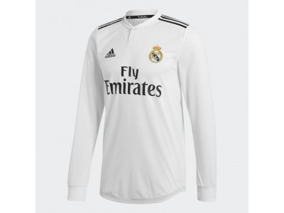 Real Madrid home jersey authentic L/S 2018/19