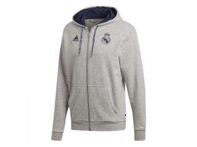 Real Madrid hoody top FZ 2019/20 - grey