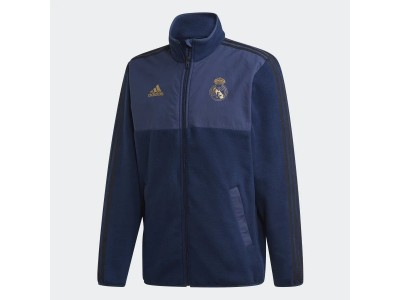 Real Madrid fleece jacket 2019/20 - navy - by adidas