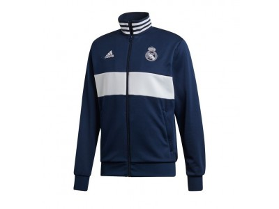 Real Madrid track top 2019/20 - navy - white