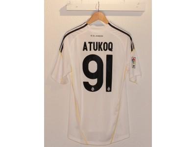 Real Madrid home jersey 2009/10 - Atukoq 91