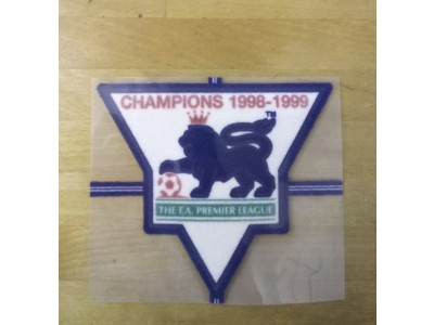 Premier League Champs Sleeve Badge 1998-1999 - player's