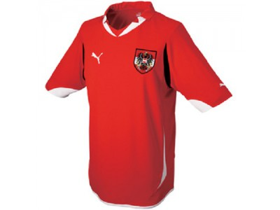 Austria home jersey 2012