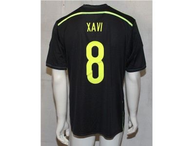 Spain away jersey 2014 - men's - Xavi 8