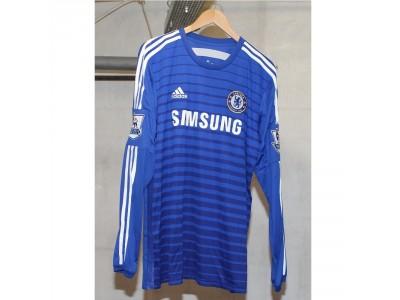 Chelsea Home Jersey L/S 2014/15 - Men's, XL, FABREGAS 4