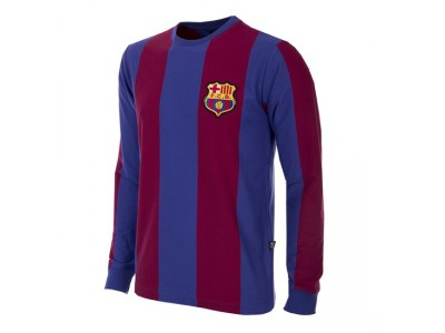 FC Barcelona 1973/74 Long Sleeve Retro Football Shirt