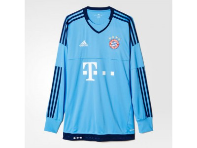 FC Bayern Goalie Home L/S Jersey 2015/16 - Men's