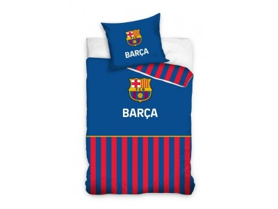 FC Barcelona duvet set - blue - stripe