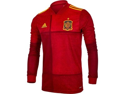 Spain home jersey L/S EURO 2020 - FEF