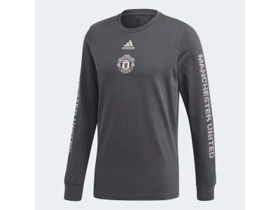 Manchester United tee L/S 2020/21 - carbon