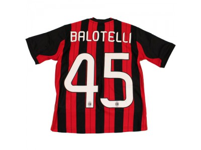 AC Milan Home Jersey 2013/14 - Youth, BALOTELLI 45