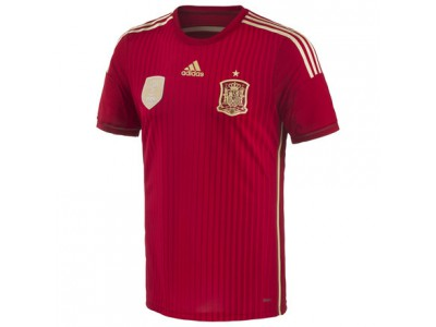 Spain Authentic Home Jersey 2014 World Cup