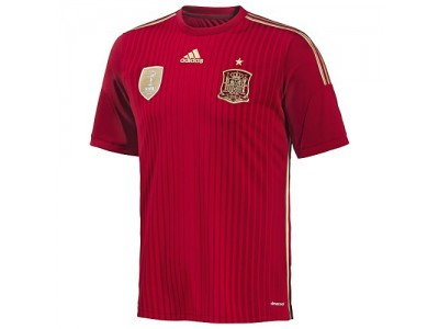 Spain Home Jersey 2014 World Cup