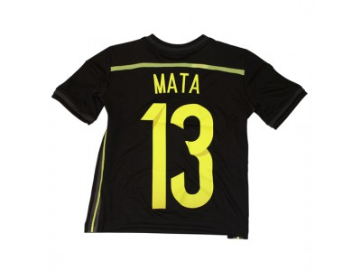 Spain away jersey 2014 - youth - Mata 13