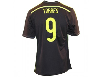Spain away jersey 2014 - youth - Torres 9