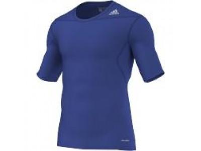 Adidas TechFit Base Layer S/S - Men's, Blue