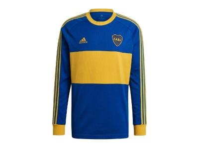 Boca Juniors Icons Shirt L/S - by Adidas