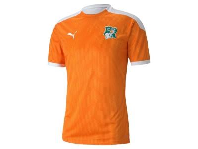 Ivory Coast stadium jersey 2021/22 - by Puma