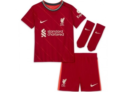 Liverpool home kit 2021/22 - little boys - by Nike