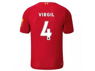Liverpool home jersey 19/20 - youth - Virgil 4