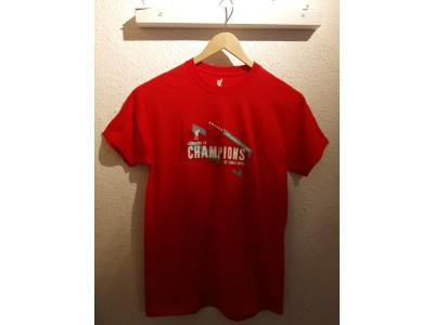 Liverpool Champions of Europe 2019 tee - mens