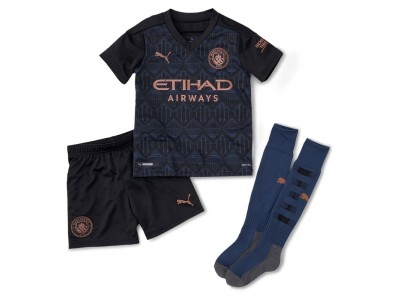 Manchester City away kit 2020/21 - little boys - by Puma