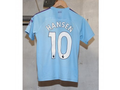 Manchester City home jersey 2019/20 - youth - Hansen 10