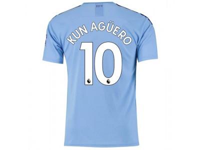 Manchester City Home Jersey 19/20 - Kun Aguero 10