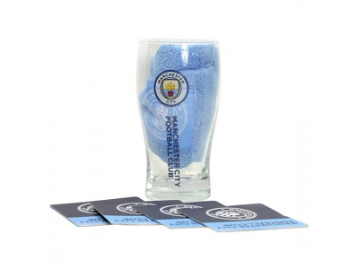 Manchester City Mini Bar Set - New Crest