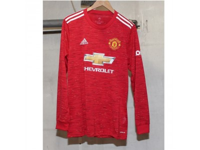 Manchester United home jersey L/S 2020/21