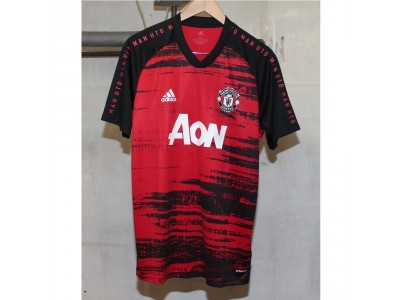Manchester United pre-match jersey 2020/21 - black-red
