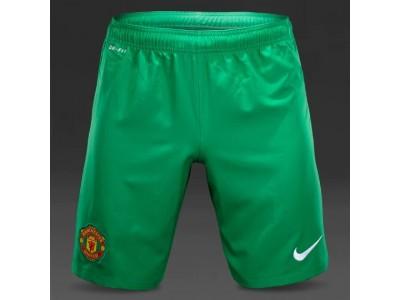 Manchester United Goalie Away Shorts 2014/15