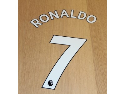 Manchester United PL home print 2021/22 - Ronaldo 7